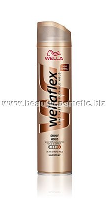 Wellaflex Shine & Hold Спрей