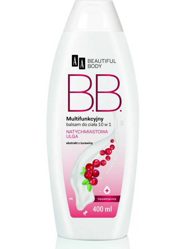 AA Beautiful Body Instant Relief Body Balm in Cranberry