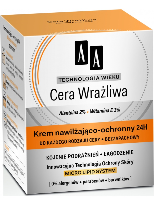 AA Technologia wieku 24 hours moisturizing cream