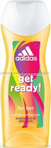 Adidas Get Ready for her душ гел 400ml