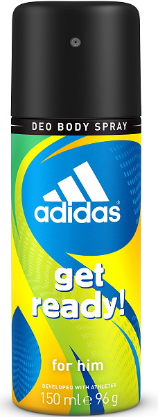 Adidas Get Ready for him deo spray