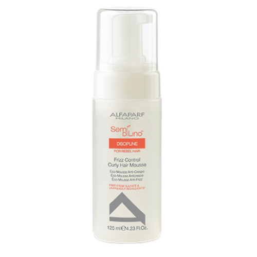 Alfaparf Semi Di Lino Frizz Control foam to form curls