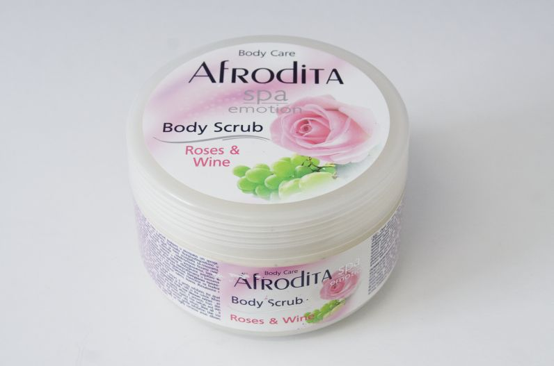Afrodita Spa Emotion Body scrub Rose & Wine