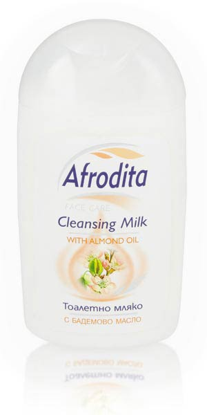 Afrodita Cleansing Milk with Almond oil