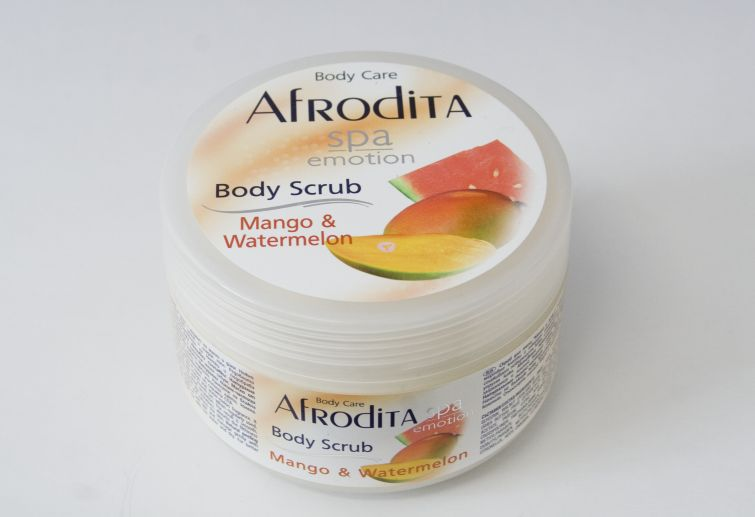 Afrodita Spa Emotion Body scrub Mango and Watermelon