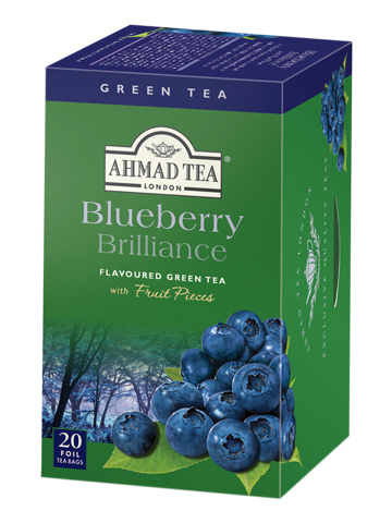 Ahmad Tea Blueberry Brilliance 20 броя