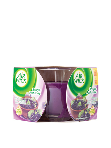 Air Wick Wild Blackberries aromatic candle