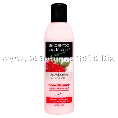 Alberto Balsam Strawberries & Cream of impaired and damaged hair