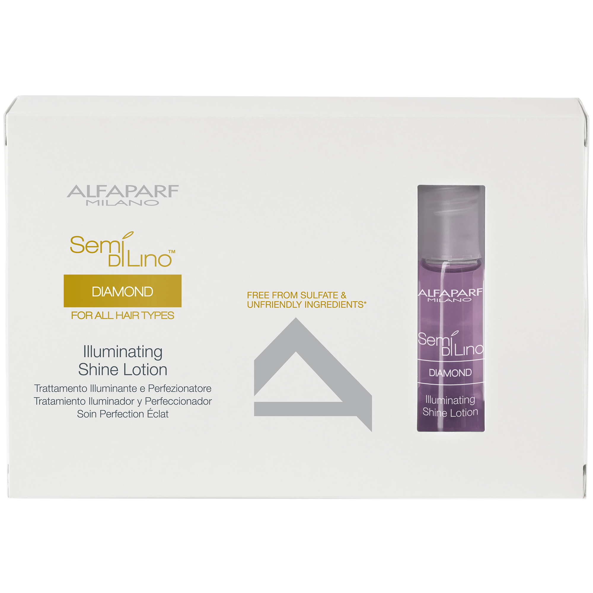 Alfaparf Semi Di Lino Diamond Illuminating Shine Lotion