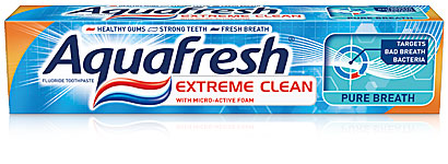 Aquafresh Extreme Clean Pure Breath паста за зъби