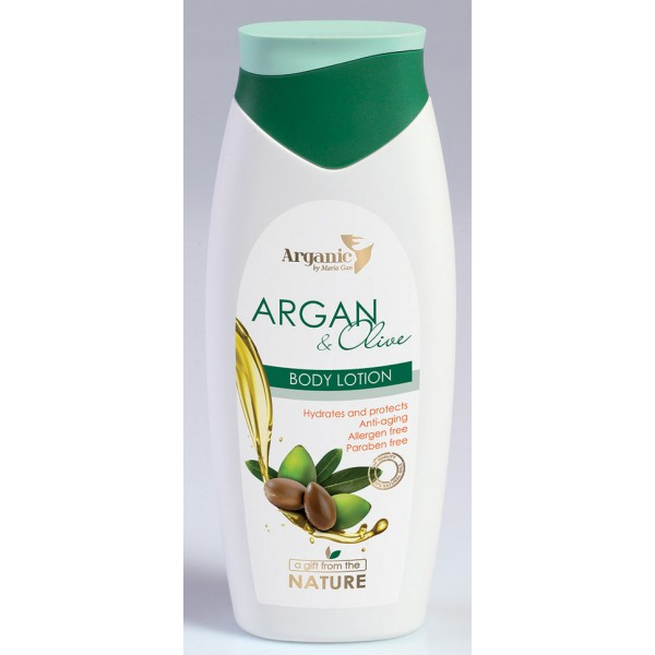 Aries Body Lotion Argan & Olive