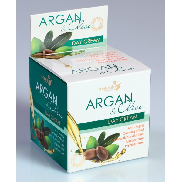 Aries Daily Face Cream with Argan Oil & Olive