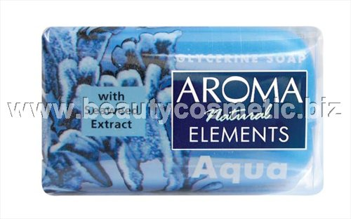 Aroma Natural elements Aqua глицеринов сапун