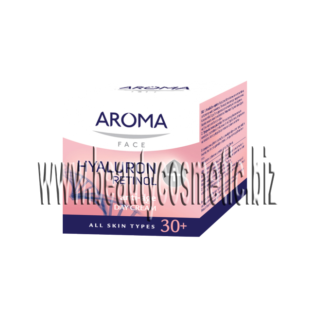 Aroma face Hyaluron + Retinol дневен крем 30+