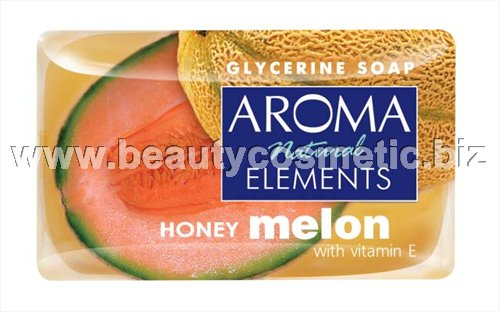 Aroma Natural elements Honey Melon глицеринов сапун