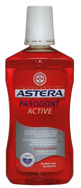 Astera Parodont Active Mouthwash 500ml