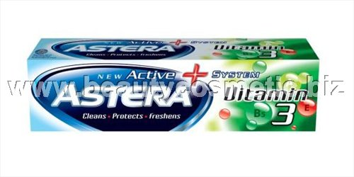 Astera Active+ Vitamin 3 паста за зъби