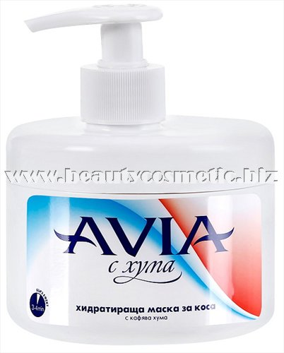 Avia Moisturizing hair mask with brown clay