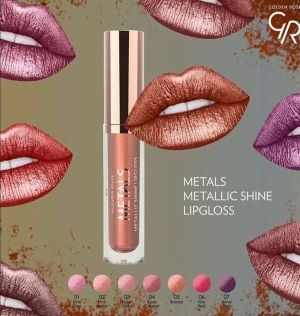 Golden rose metals lipgloss