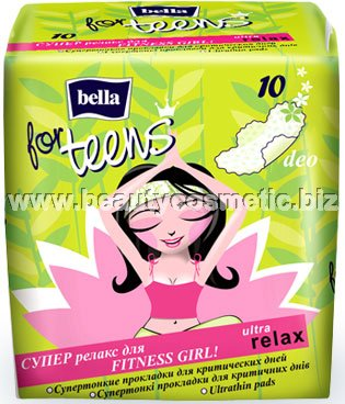 Bella For Teens Ultra Relax sanitary napkins