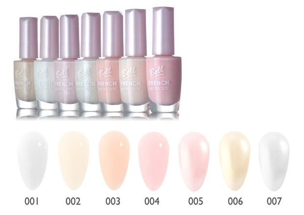 Bell French Manicure лак за нокти