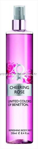 Benetton Body Mist Cheering Rose