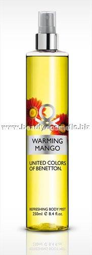 Benetton Body Mist Warming Mango