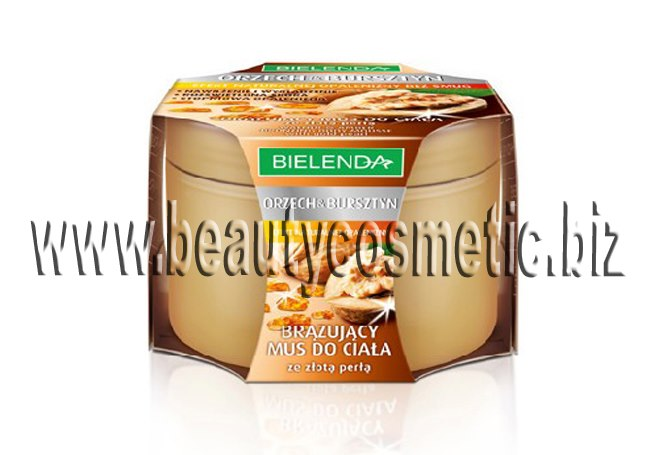 Bielenda bronzing mousse body Walnut, Amber and Gold Dust