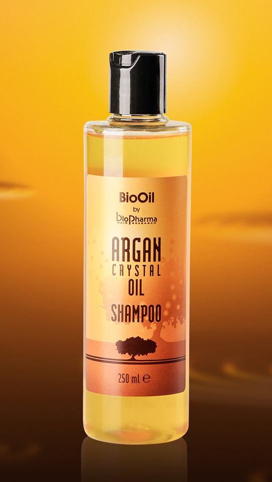 BioPharma Argan Crystal Oil шампоан