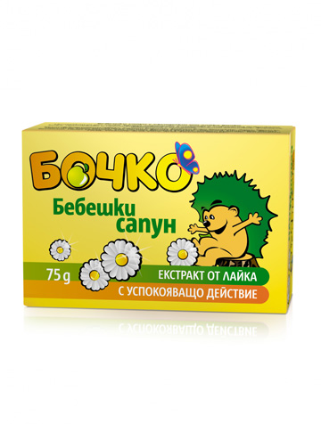 Lavena Bochko cream soap with chamomile extract