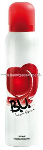BU Heartbeat deo spray