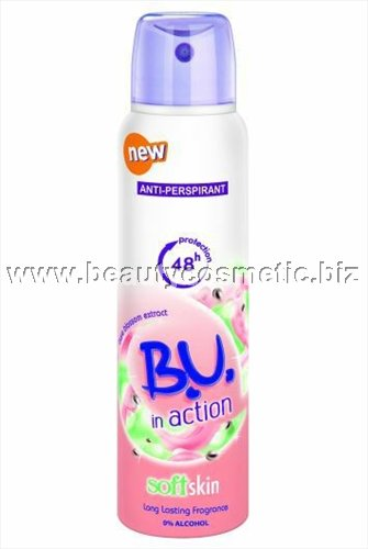 BU In Action Soft Skin deo spray