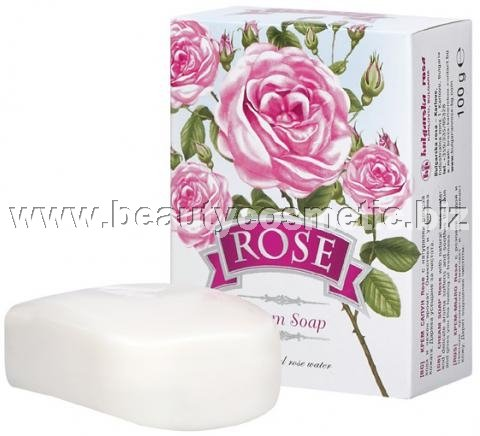 "Bulgarian Rose Cream soap ""ROSE\"""