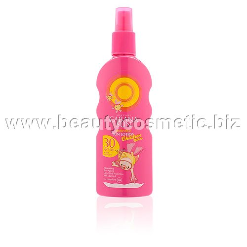 Cabana Sun Protective Kids sun spray lotion SPF 30