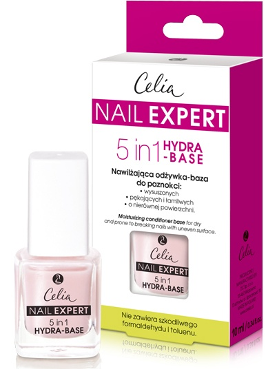 Celia Nail Expert 5 in 1 Hydra Base
