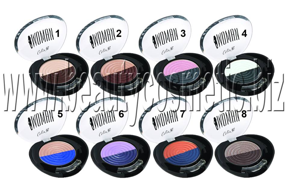 Celia Duo-High Pigment Eyeshadow