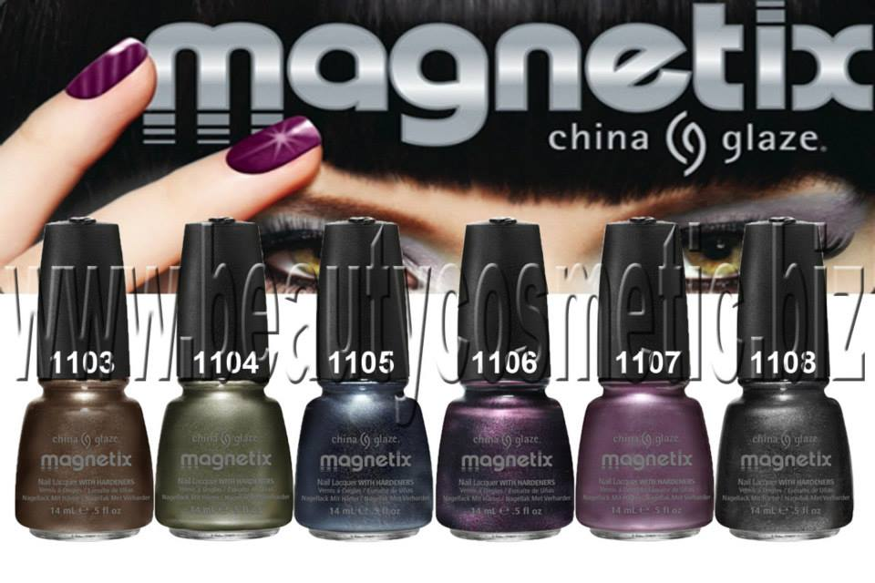 China Glaze Magnetix collection, BeautyCosmetic Online Store