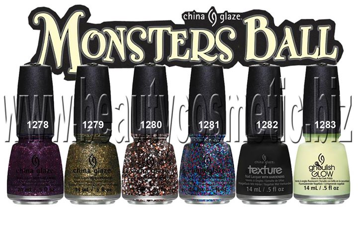 China Glaze Monsters Ball collection