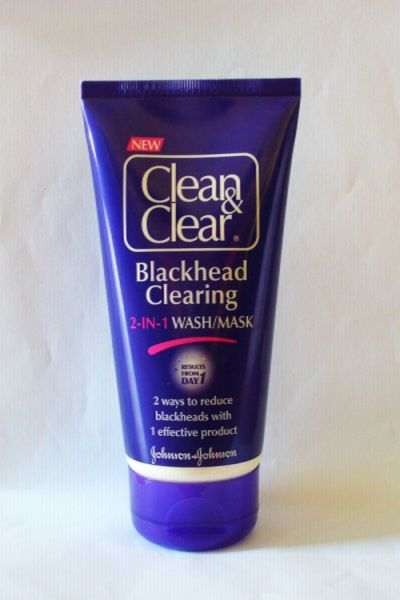 Clean & clear Blackhead clearing 2 in 1 wash/mask