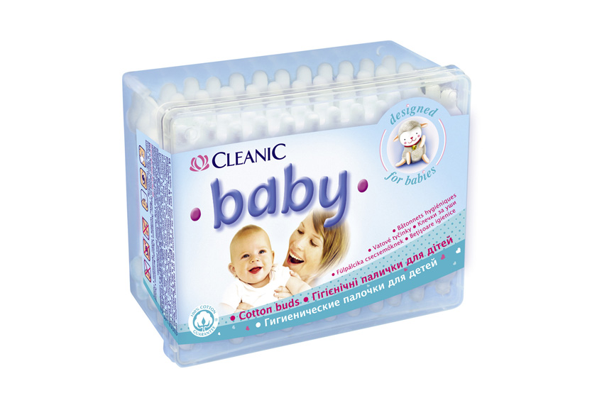 Cleanic Baby Cosmetic Buds