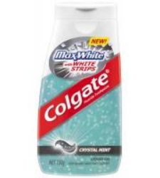Colgate Max White crystal mint