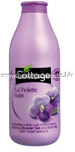 Cottage bath foam Violet