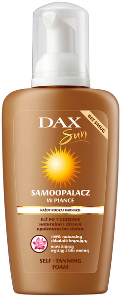DAX Extra Bronze self tanning foam body and facial for all skin
