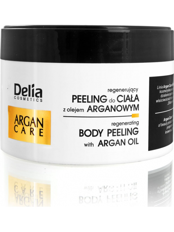 Delia Argan Care body scrub