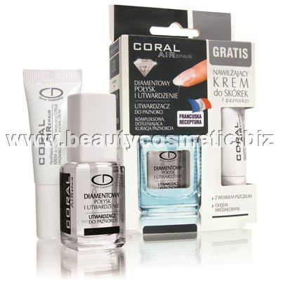 Delia Coral Airepair диамантен гланц & твърдост
