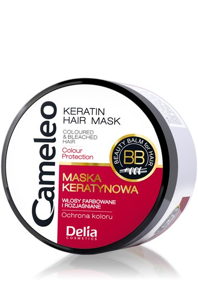 Delia Cameleo mask for colored hair