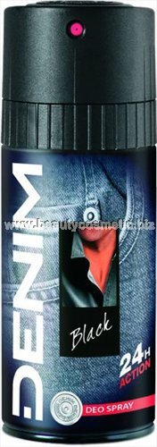 Denim Deo Body Spray Black