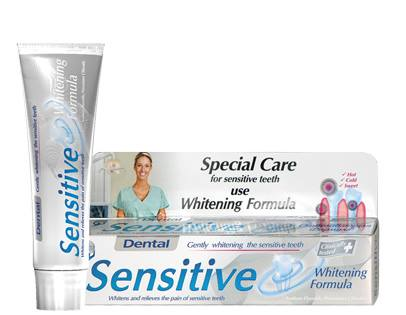 Dental Sensitive Whitening Formula паста за зъби