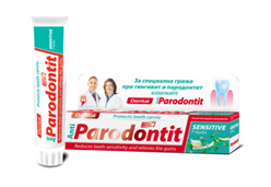 Dental Anti Parodontit Sensitive 7 herbs паста за зъби
