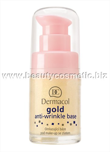 Dermacol Gold base for makeup anti wrinkles